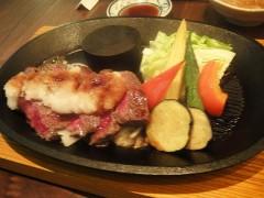 仙台牛のステーキ